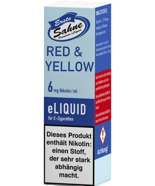 Erste Sahne Red & Yellow Liquid
