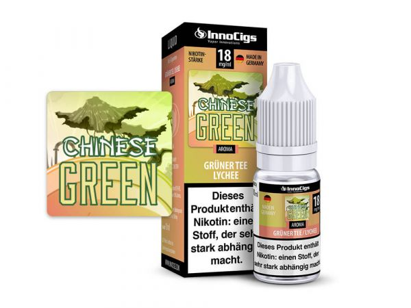 Grüner Tee-Lychee Chinese Green 10x10ml Liquid