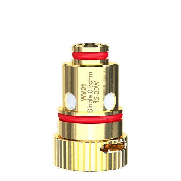 5x Wismec WV01 Coil Verdampferkopf