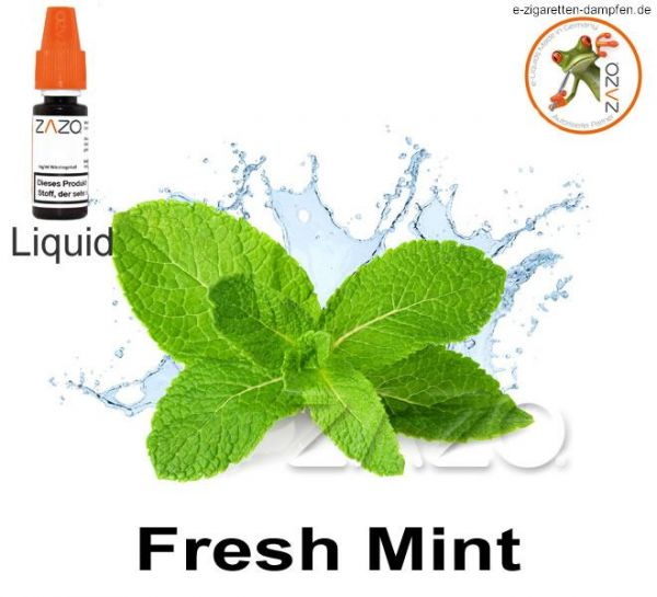 Fresh Mint Zazo Liquid