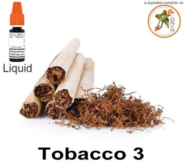Tobacco 3 Zazo Liquid
