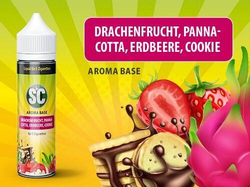 SC Drachenfrucht Pannacotta Erdbeere Cookie Liquid 50ml
