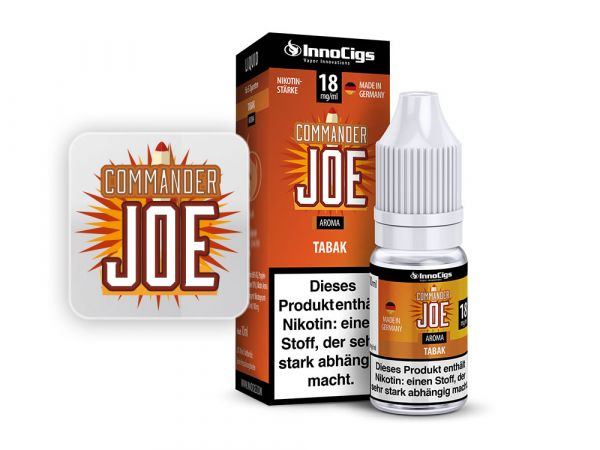 Innocigs Tabak Commander Joe 10x10ml