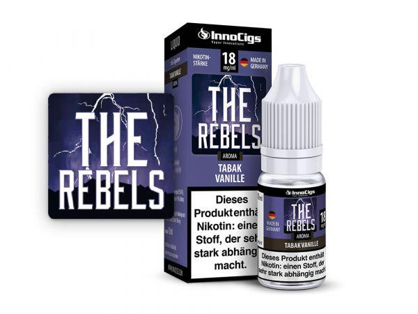 Innocigs Tabak Vanille The Rebels 10x10ml