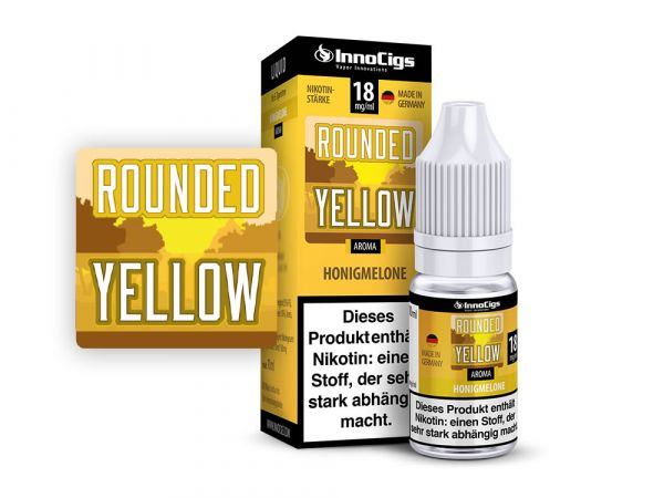 Innocigs Honigmelone Rounded Yellow 10x10ml