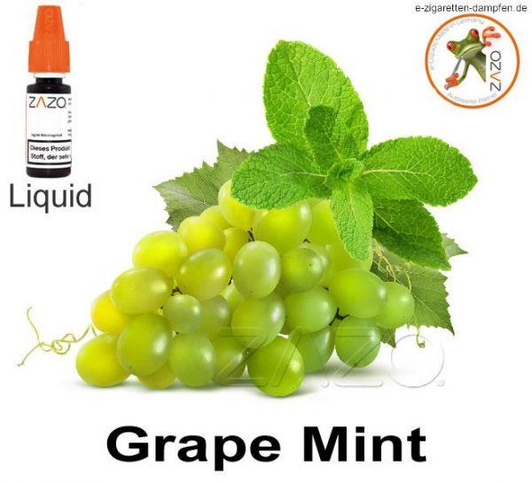 Grape Mint Zazo Liquid