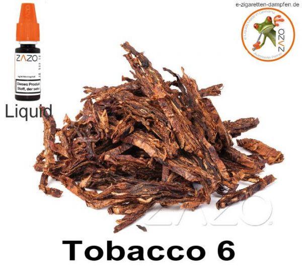 Tobacco 6 Zazo Liquid
