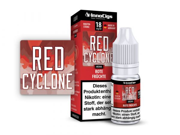 Innocigs Rote Früchte Red Cyclone 10x10ml