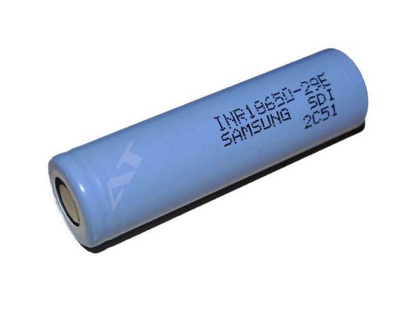 Samsung INR 18650 29E Zelle mit 2900mAh