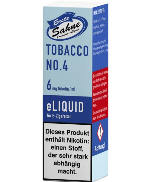 Erste Sahne Tobacco No4 Liquid