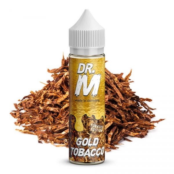 DR. M Tobacco Edition Gold Tobacco Longfill-Aroma 15 ml