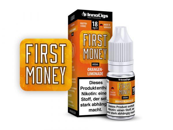 Innocigs Orangenlimonade First Money 10x10ml