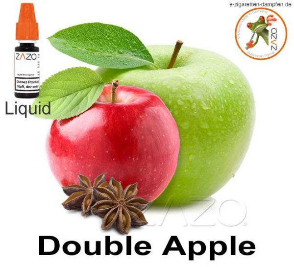 Double Apple Zazo Liquid 8mg