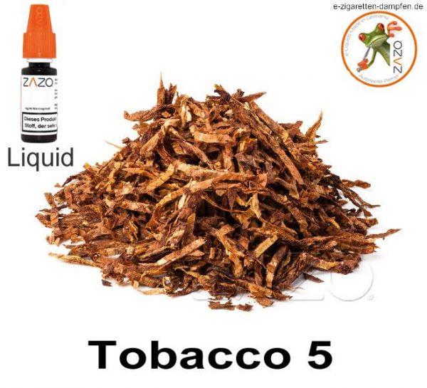 Tobacco 5 Zazo Liquid