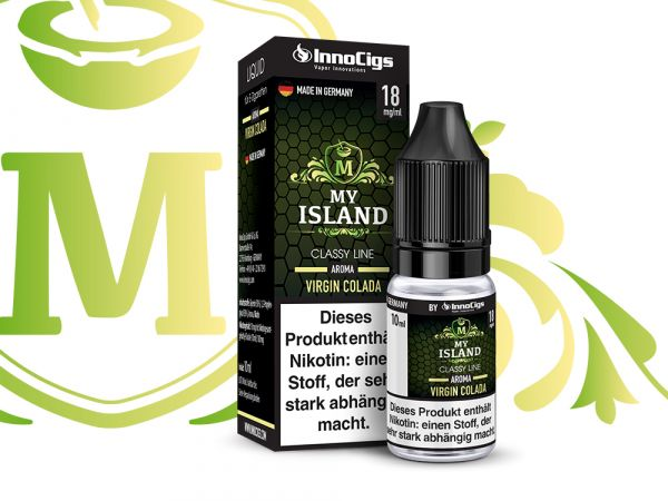 My Island Virgin Colada 10x10ml Liquid