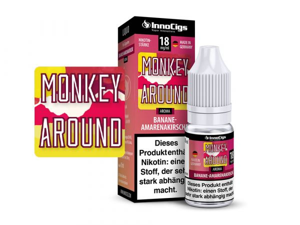Innocigs Bananen-Amarenakirsche Monkey Around 10x10ml