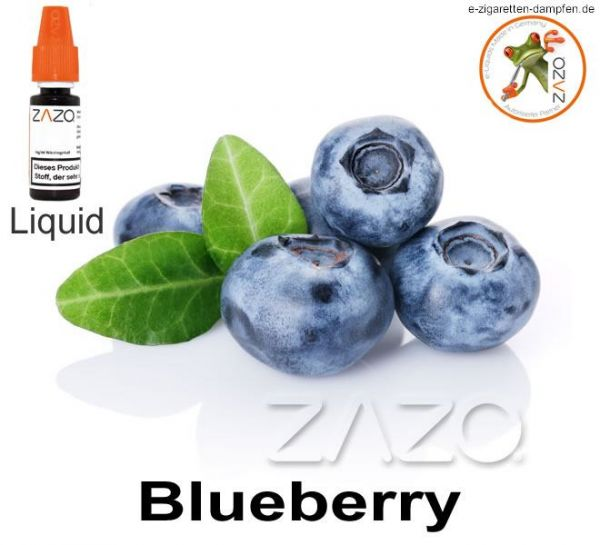 Blueberry Zazo Liquid 8mg