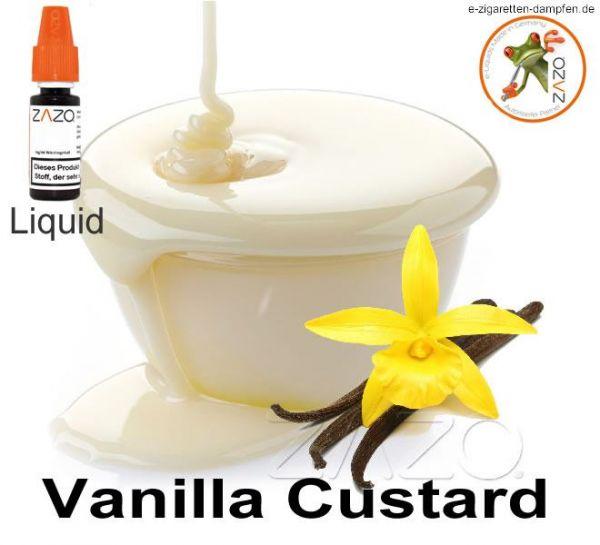 Vanilla Custard Zazo Liquid