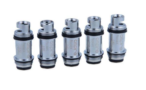 Aspire PockeX Coils - 5 Stück