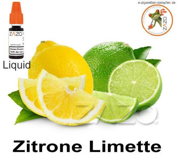 Zitrone-Limette Zazo Liquid
