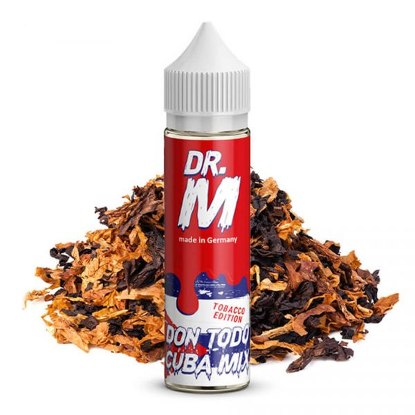 DR. M Tobacco Edition Don Todo C_BA Mix Longfill-Aroma 15 ml