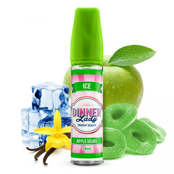 DINNER LADY Sweets Ice Apple Sours Longfill-Aroma 20 ml
