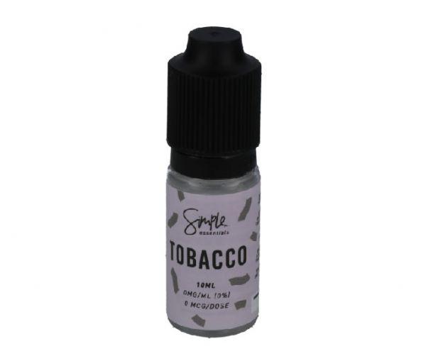 Tobacco Simple Essentials 10x10ml Liquid