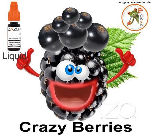 Crazy Berries Zazo Liquid 8mg